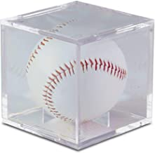 Ultra Pro UV Protected Square Ball Holder Display Case Baseball by BCW