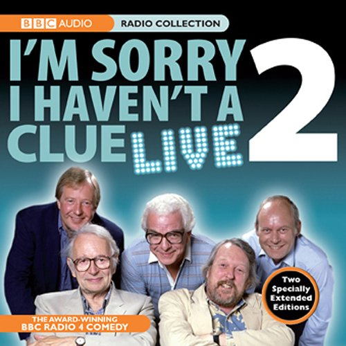 I'm Sorry I Haven't A Clue Live, Volume 2 audiobook cover art
