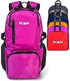 Roam Packable Backpack - Lightweight Foldable Daypack Water-Resistant, 25L, Durable Tear-Resistant Nylon Weave