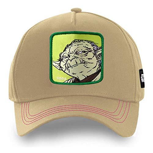 Gorra de béisbol animado, Yoda, los hombres y de las mujeres Gorra, Sombrero de sol de verano, ajustable, transpirable, gorra de béisbol con estilo al aire libre de Protección Solar ( Color : C )