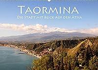 Taormina, die Stadt mit Blick auf den Aetna (Wandkalender 2022 DIN A2 quer): Ein Ausblick fuer die Goetter (Monatskalender, 14 Seiten )