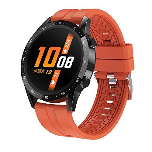 LKXL Smartwatches Presión Arterial sincrónica del Ritmo cardíaco de la información Elegante del Reloj de la Llamada de Bluetooth