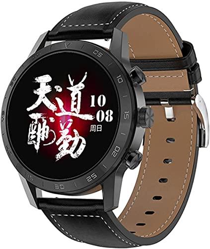 wyingj Reloj inteligente para hombre y mujer con pantalla táctil completa, resistente al agua, llamada Bluetooth, reloj inteligente