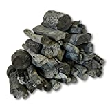The Bincho Grill Binchotan Charcoal for Japanese BBQ 11lbs. Natural Hardwood High-Grade for Yakitori