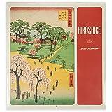 Calendario de pared japonés Hiroshige 2020