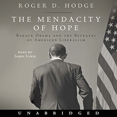 The Mendacity of Hope audiobook cover art