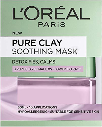 L'Oréal Paris Masque lissant 3 argiles pures et algue rouge