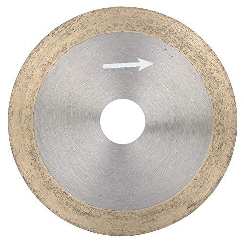 Hoja de sierra de disco de corte de diamante, rueda de sierra circular de corte fino profesional, para gemas, cristal, jade, vidrio, corte y procesamiento(120 * 20 * 1.0)