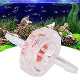 XiangXin Válvula de retención de Bomba de Aire Válvula de retención de retención, plástico 10 Piezas para Tanques de Peces de Acuario(3mm)