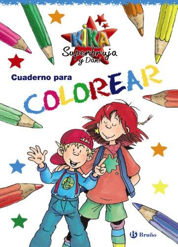 Cuaderno para colorear (Especiales Kika Y Dani)