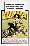 Luana The Girl Tarzan Movie Poster (27,94 x 43,18 cm)