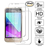 Guran [3-Unidades] Protector de Pantalla Vidrio Cristal Templado para Samsung Galaxy J1 Mini Prime Smartphone Cristal Vidrio Templado Film (9H, 2.5D Edge, 0.3mm)