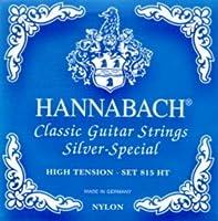 CUERDAS GUITARRA CLASICA - Hannabach (81510/ZH) Azul (Juego Completo) Para Guitarra de 10 Cuerdas