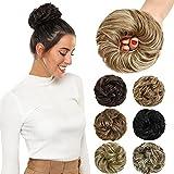 ROSEBUD Messy Bun Hair Pieces For Women Hair Bun Extension Updo Curly Messy Bun Scrunchie