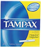 Tampax Tampons with Flushable Cardboard Applicator - Regular - 20 ct