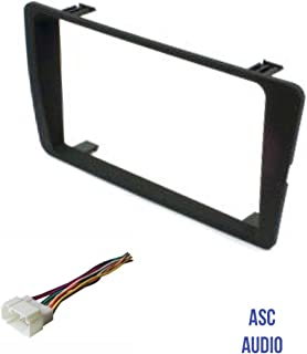 ASC Audio Car Stereo Dash Kit and Wire Harness for installing a Double Din Radio for 2001 2002 2003 2004 2005 Honda Civic (excludes SI and SE models)