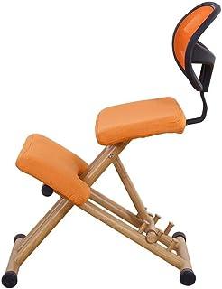 YUTRD ZCJUX Silla de Rodillas de diseño ergonómico Mango de Taburete Ajuste de Altura Silla de Oficina Silla de Rodill...