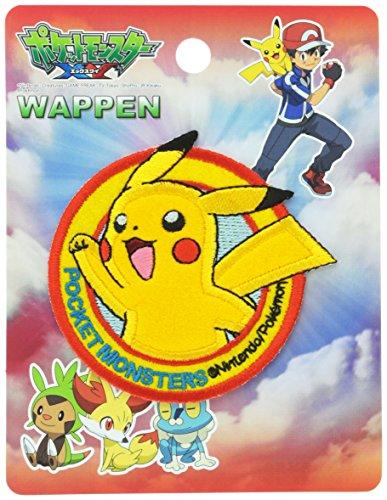 Pokèmon Inagaki Clothing Pikachu Badge Iron bonding PXW001