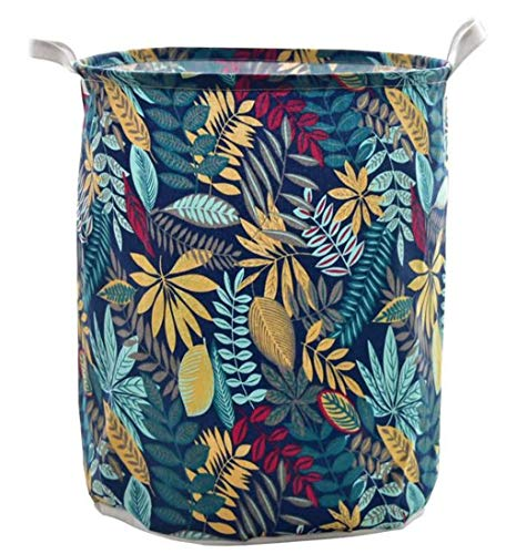 Collapsible Hamper Large Laundry Basket Stylish Look Durable with Handle Portable Used for Cupboards Wardrobe Clothes