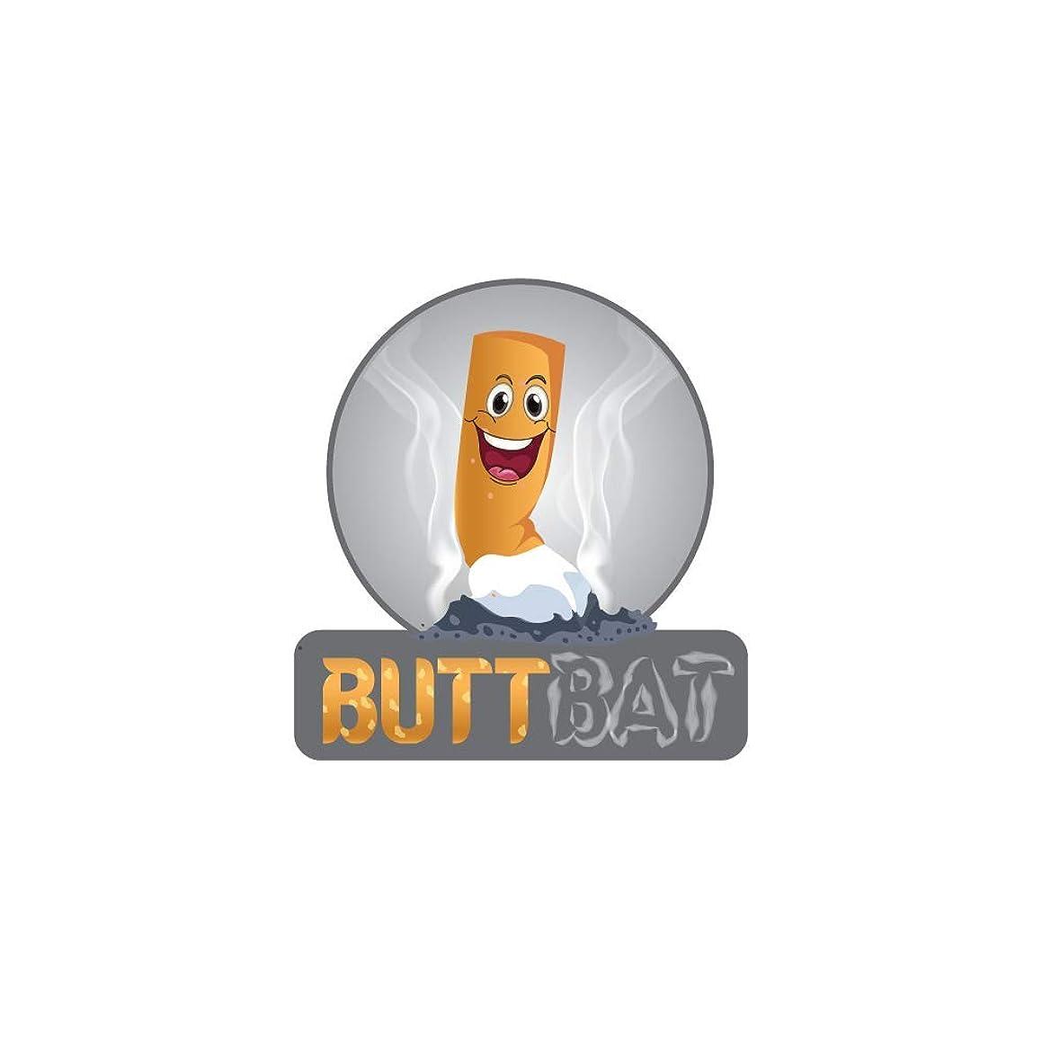 Butt Bat White Quartz Cigarette Extinguisher Snuffer 2 Short - 2 Large (Pack of 4)