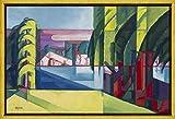 Berkin Arts Rahmen Oscar Bluemner Giclée Leinwand Prints