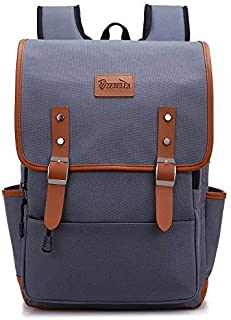 ZEBELLA Laptop Backpack School Bag Travel Rucksack Waterproof Tear Resistant Gray