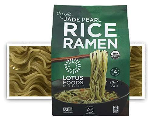 Lotus Foods Gourmet Organic Jade Pearl Rice Ramen Noodles, 10 Ounce (Pack of 6)