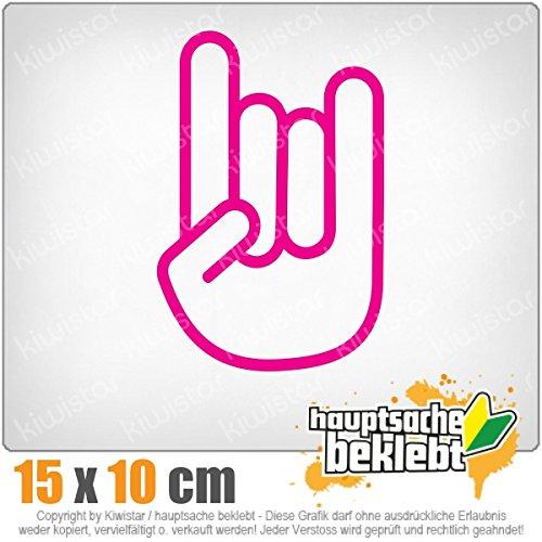The Heavy Shocker 15 x 10 cm In 15 Farben - Neon + Chrom! JDM Sticker Aufkleber