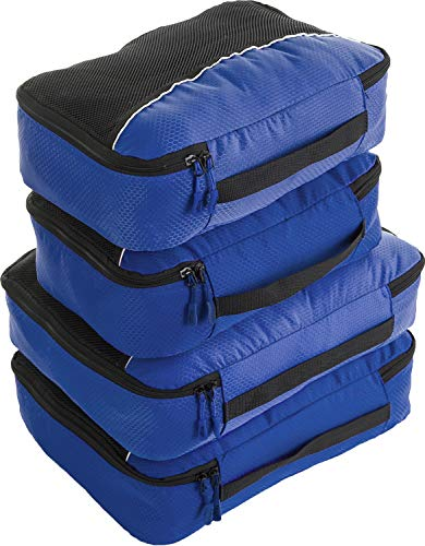 Bago 4 Set Packing Cubes for Travel - Luggage & Bag Organizer - Pack Like a Pro