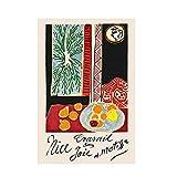 WXUEH Henri Matisse Nizza Frankreich Kunstdruck Poster Und