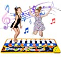 XIHAXIHA Toy for 3 Year Old Boys Girls Kids, Education Toys Gift for Toddler Girls Boys Age 1-6 Kids Piano Music Mat Dance Paly Mat for 3 4 5 6Year Old Girls Birthday Christmas Easter Day Gift