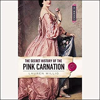 The Secret History of the Pink Carnation                   By:                                                                                                                                 Lauren Willig                               Narrated by:                                                                                                                                 Kate Reading                      Length: 13 hrs and 31 mins     1,148 ratings     Overall 3.8