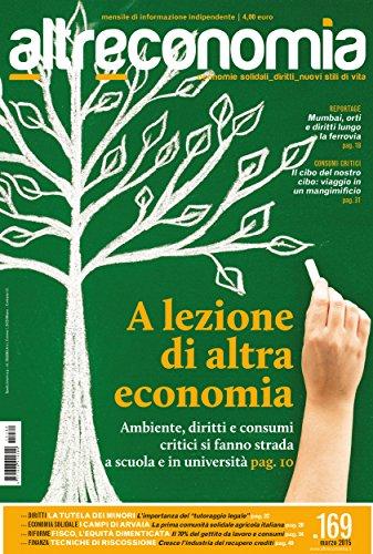 Altreconomia 169 Marzo 2015 A Lezione Di Altra Economia Italian Edition