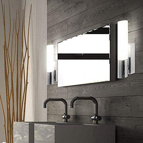 2er Set Wand Spot Strahler Leuchte Lampe Licht IP44 INDOOR Badezimmer