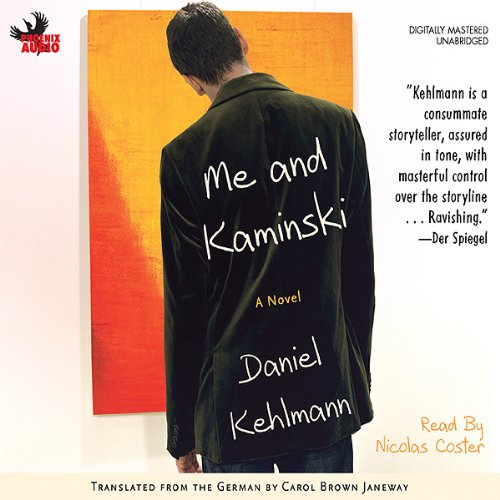 Me and Kaminski audiobook cover art