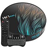 Android 10.0 TV Box 4GB RAM 64GB ROM TV Box Android RK3318 Quad-Core 64bit Support 2.4G 5GHz WiFi 4K Ultra HD/ 3D/ H.265 Smart TV Box