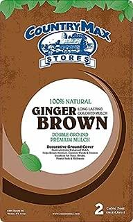 CountryMax Ginger Brown Premium Hardwood Mulch, 2 Cu. Ft.