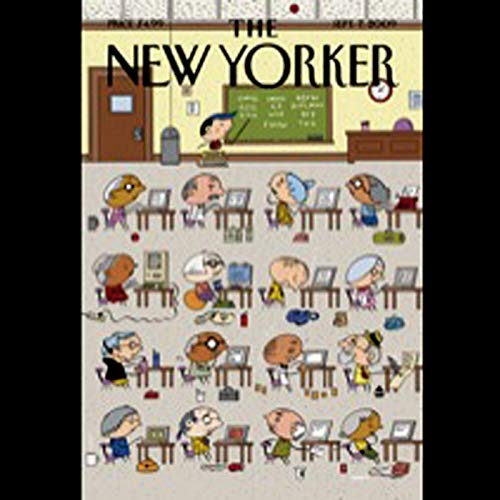 The New Yorker, September 7, 2009 (Adam Gopnik, Jane Kramer, Caleb Crain) cover art