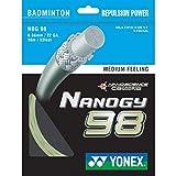 Yonex Nanogy 98 Medium Feeling Badminton String Cosmic Gold
