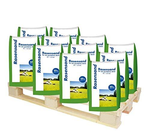 Hamann Rasensand 1125 kg - mit unserem Rasensand wird verdichteter Boden wieder aufgelockert.