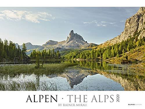 Alpen 2020 - The Alps - Bildkalender XXL (64 x 48) - Landschaftskalender - Naturkalender - Wandkalender - Österreich - Schweiz: by Rainer Mirau