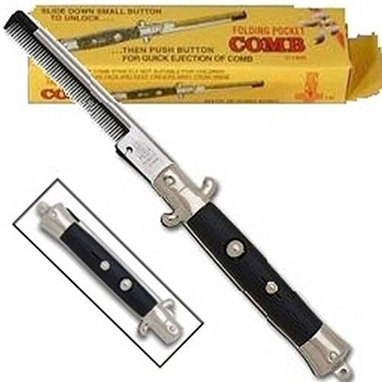 素晴らしいマラウイ見捨てられたNovelty Switch Blade Comb (1 DOZEN PIECES) [並行輸入品]