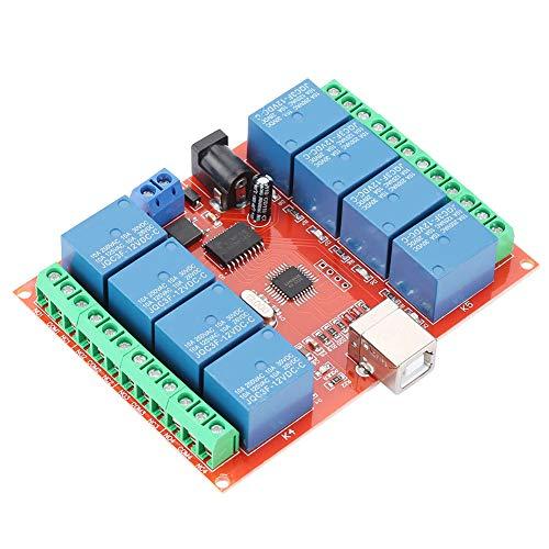 Changor Interruptor relé de 12 V, plástico más componentes electrónicos. Fabricados en relé relé controlador relé de accionamiento.
