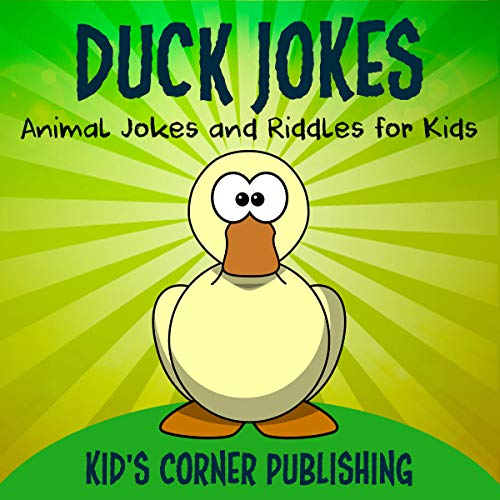 Duck Jokes: Animal Jokes and Riddles for Kids  audiobook cover art