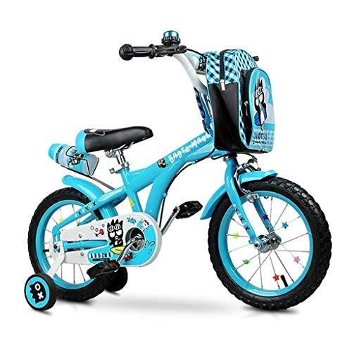 Niño niña niños niños bicicleta niño bicicleta niño bicicleta bicicleta infantil bicicleta de montaña al aire libre ciudad bicicleta de campo traviesa 12 y 14 pulgadas con rueda y freno de mano