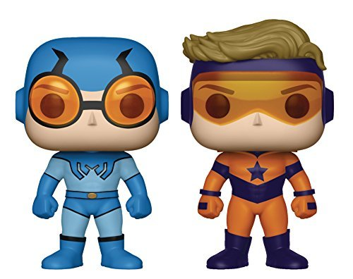 Pop Booster Gold & Blue Beetle Vinyl Figure 2 Pack