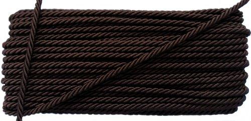CUSTOM PLUS BLINDS Chocolate Marrón 2mm Cable de Estor/Cortina–20Metros