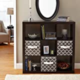 Better Homes & Gardens Bookcase/Shelve Organizer 9-Cube Storage in Espresso