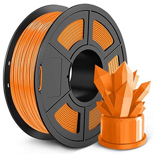 Filamento PLA para impresora 3D de 1,75 mm, filamento PLA SUNLU, precisión dimensional +/- 0,02 mm,...