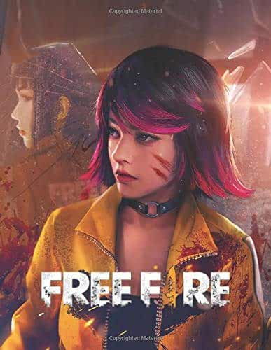 Free Fire: Garena free fire notebook 100 lined pages size 8.5×11